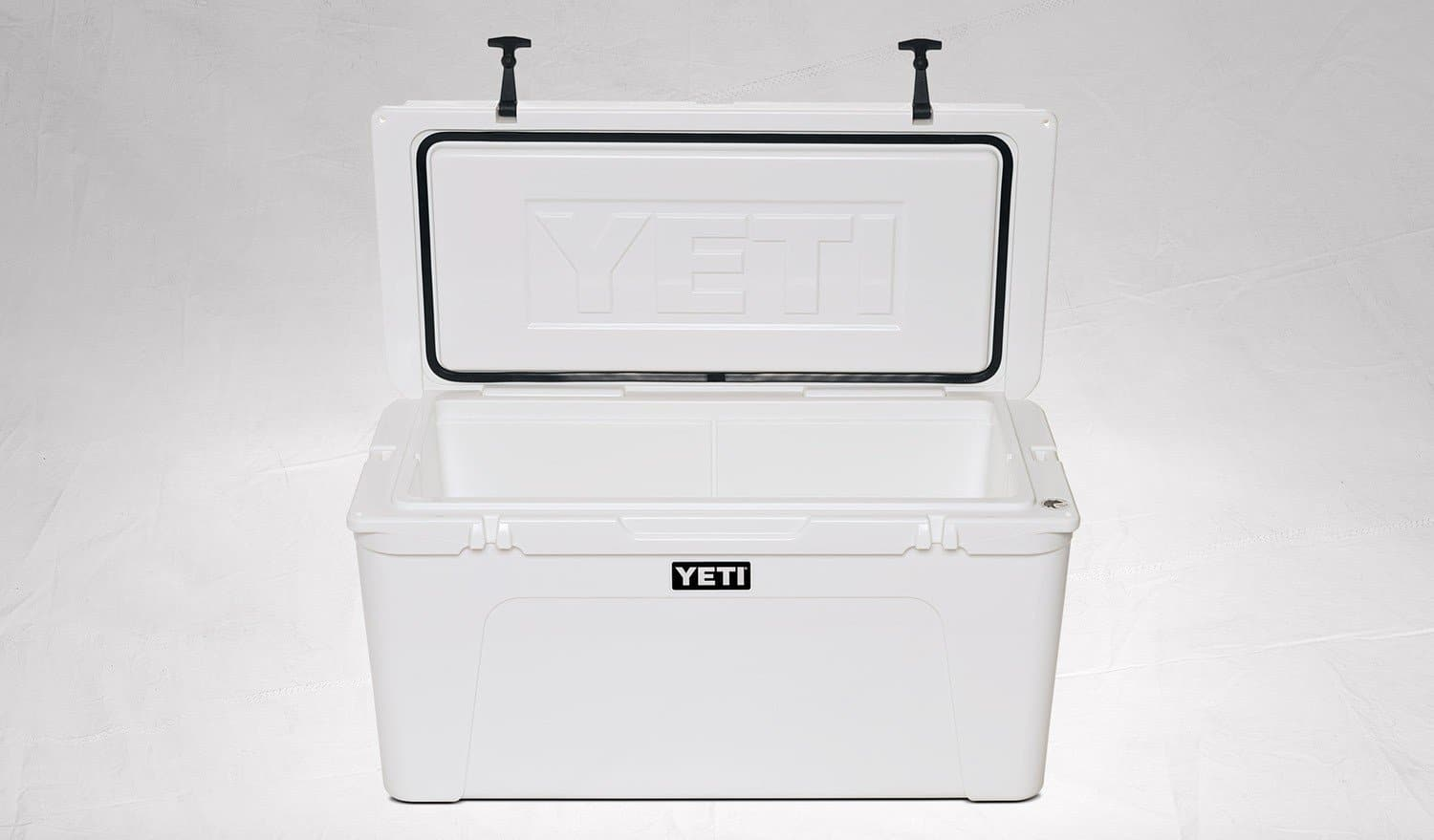 YETI Tundra 110 Cooler White open